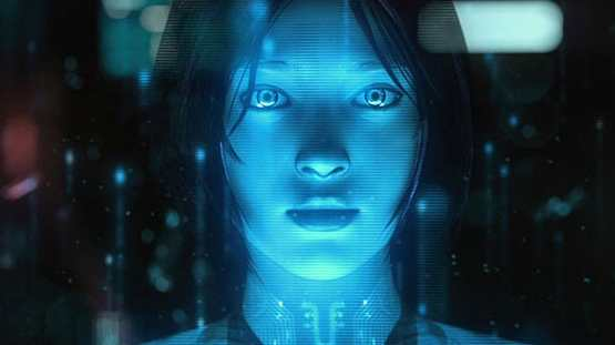 Cortana in video game Halo