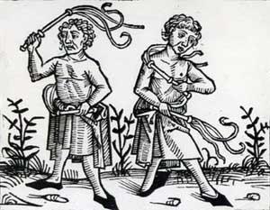 Medieval era  flagellants
