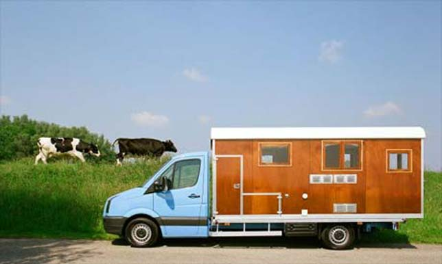 The TonkePR4, deluxe Dutch campervan. Now all my Dutch readers will want to own one.